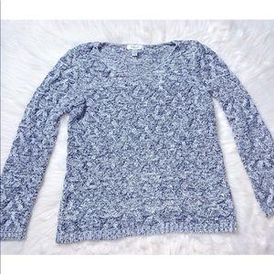 Dress Barn Open Knit Long Sleeve Sweater